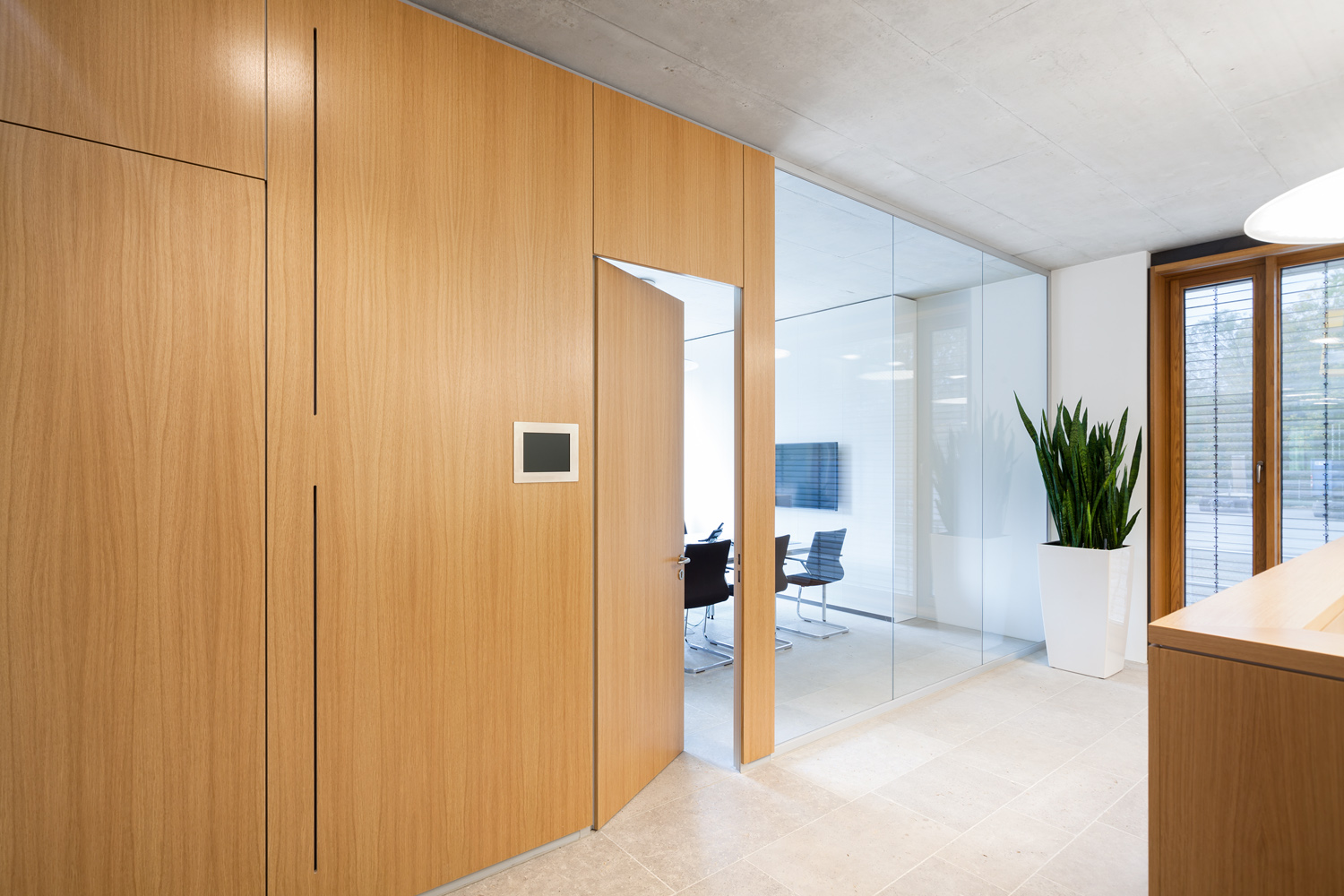 Meeting room Feco partitions